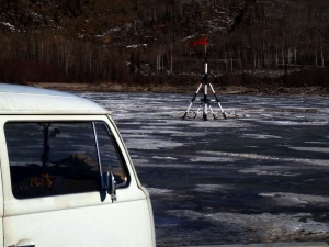 nenana ice classic and volkswagen bus