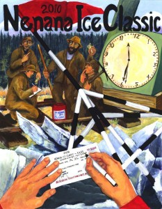 poster nenana ice classic 2010