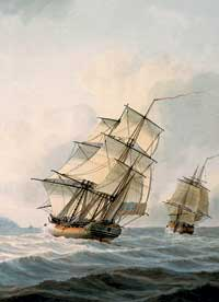 HMS Resolution and Discovery