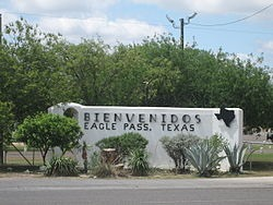 Eagle Pass, Texas – Two Miles to the Mexico Border