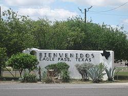 Eagle Pass, Texas – Two Miles to the Mexico Border
