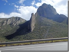Highway 47 Mexico Mountians