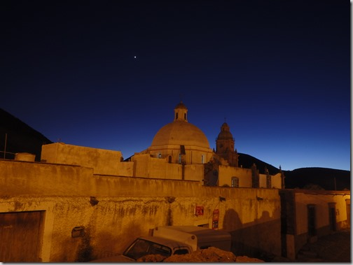 real de catorce at night