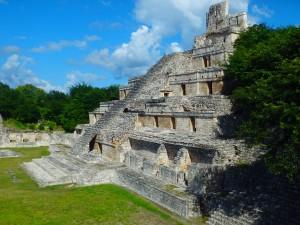 Hello Yucatan – We're in Mayan Country – Edzna Ruins