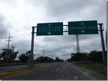 Mexico Belize at Chetumal 1