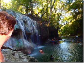 hot springs waterfall guatemala 2