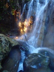 Spanglish Me – Rio Dulce – Hot Springs Waterfall – El Estor, Guatemala
