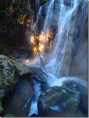 hot springs waterfall guatemala