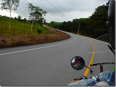 Motorcycle Guatemala Border