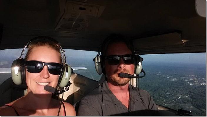 first flight private pilot