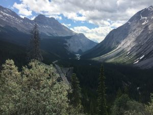 Motorcycle to the Arctic Circle – The Icefields Parkway – Banff to Jasper